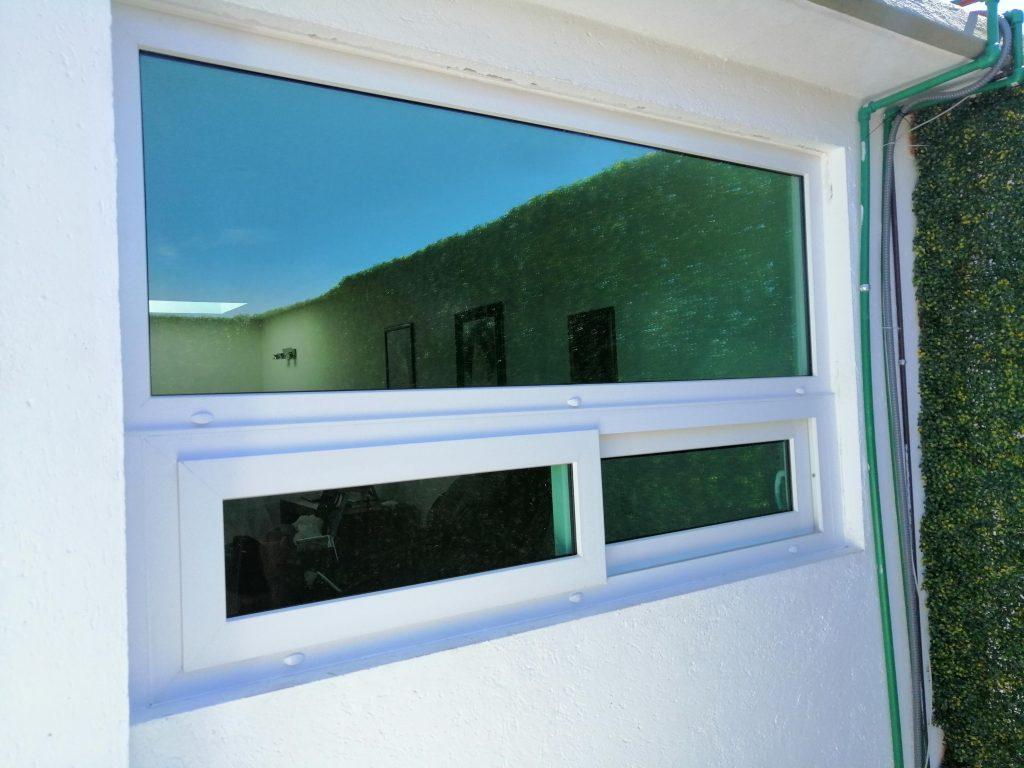 ventana pvc vidrio aluminio